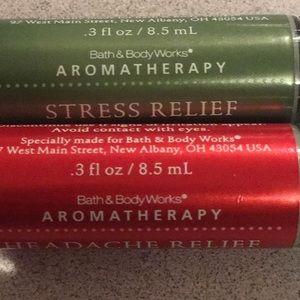 Bath & Body Works Other - NWNT B&BW Aromotherapy Headache & Stress Rollers